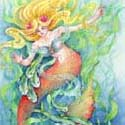 Mermaid Dance, 2013    Watercolor